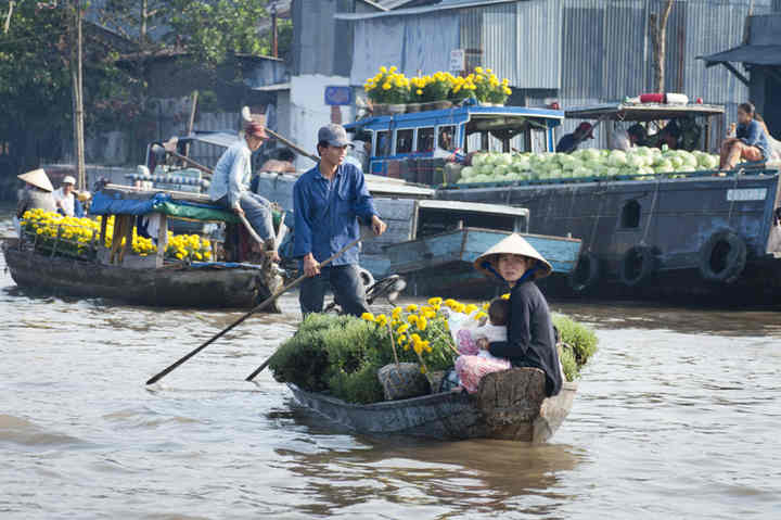 Best time to travel with Mekong River Cruises