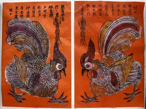 Kim Hoang Folk Painting Sees Revival