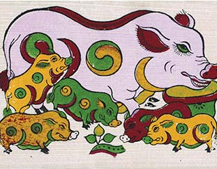 Dong Ho Painting: The quintessence of Vietnamese traditional folk art