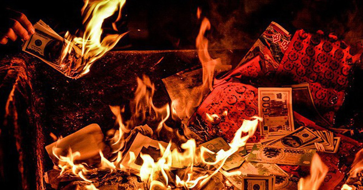 "Burning Money To The Death: A ""New"" Vietnamese Custom"