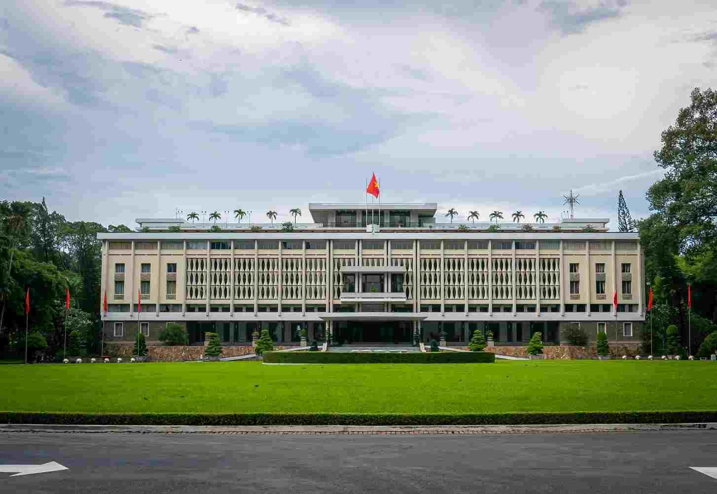 Stepping back in time when visiting Ho Chi Minh city's Reunification Palace