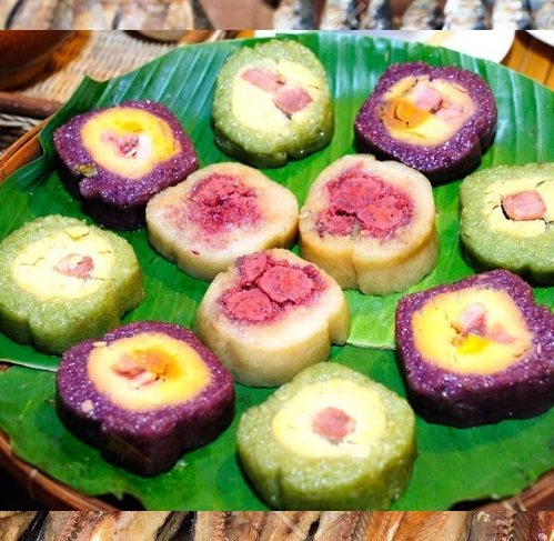 Banh Tet La Cam - A Traditional Sticky Rice Cake