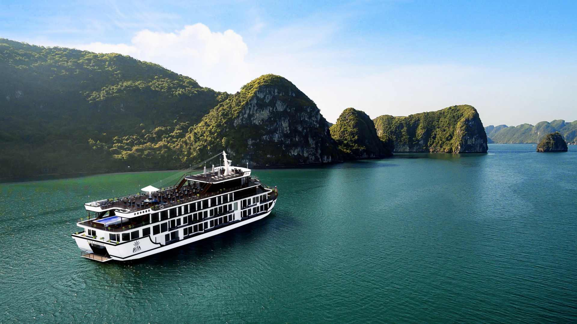 Halong cruise view