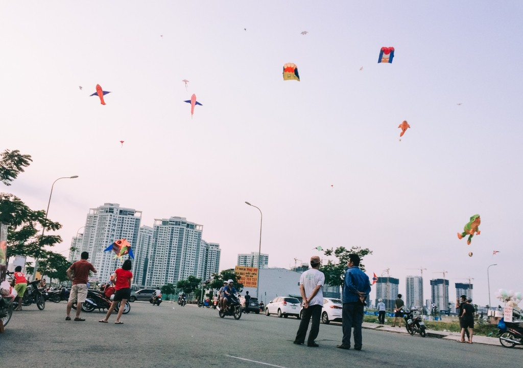 Kite flying experience in Ho Chi Minh city