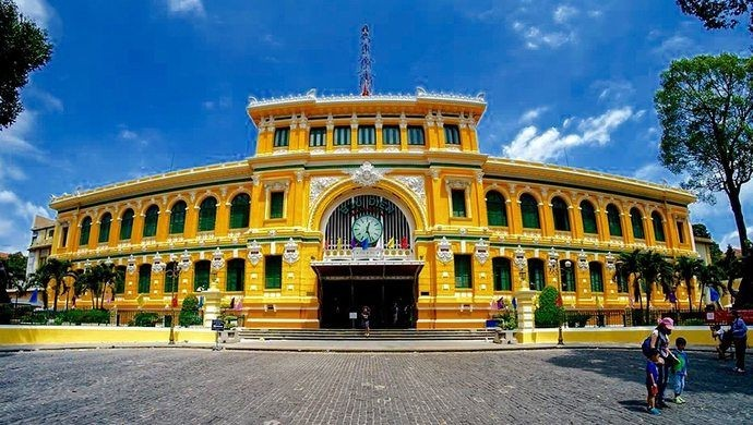 Saigon Central Post Office - Saigon Attractions