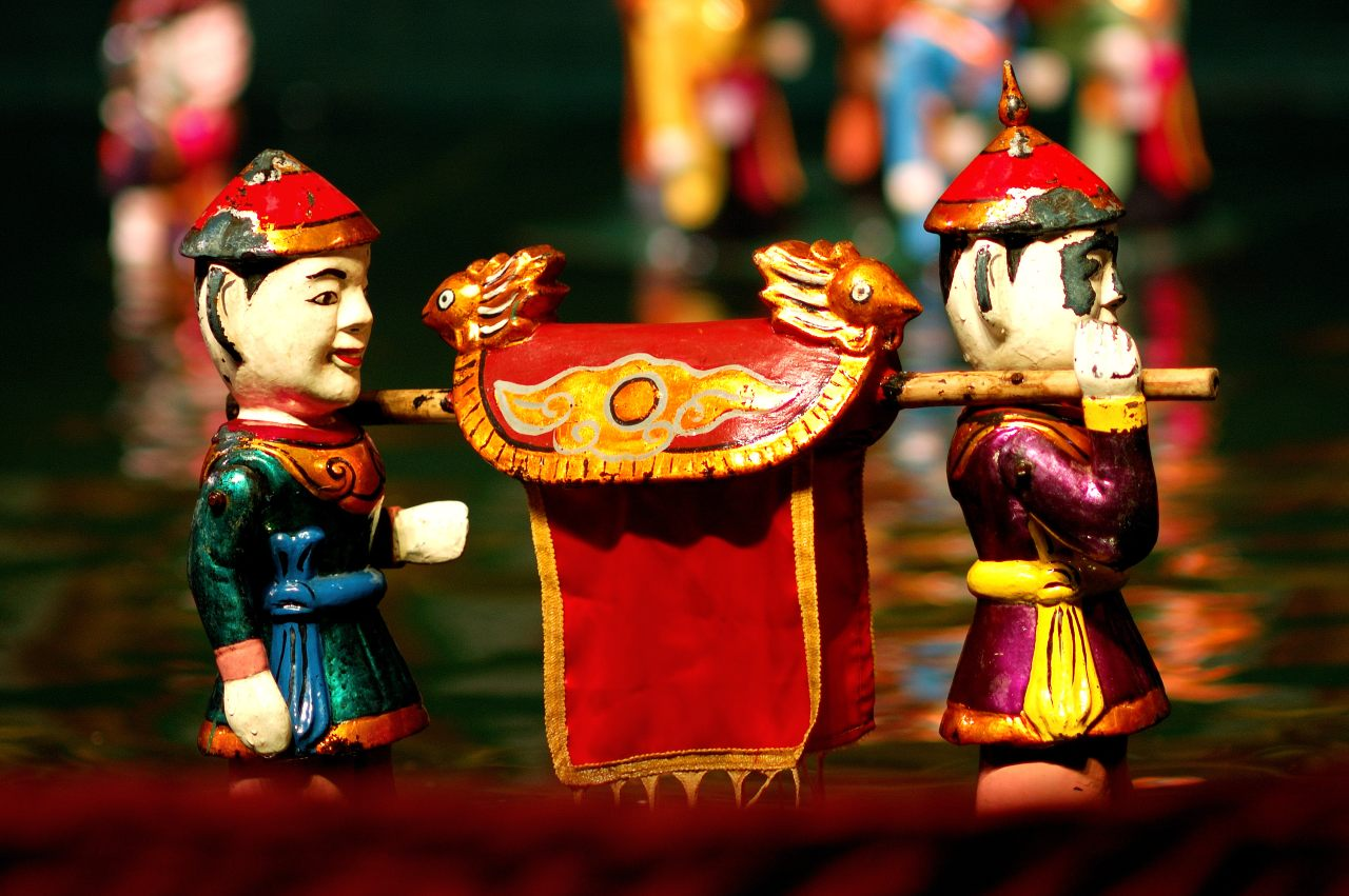 Watching Water Puppet Show - Best things to do when visiting Hanoi