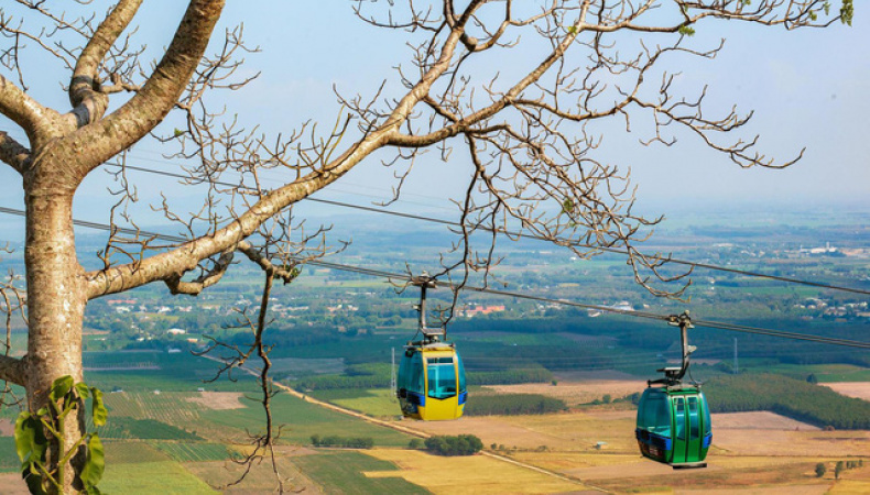 New Cable Car At Ba Den Mountain Launched