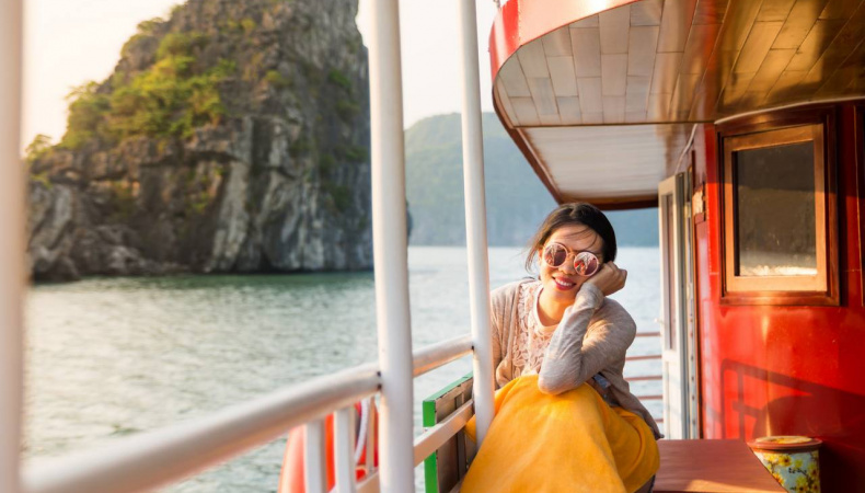 What to eat in Halong bay, Vietnam