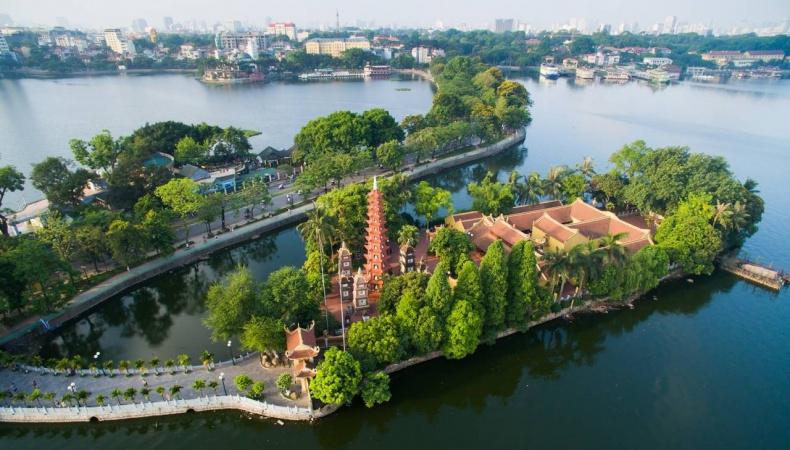 Tran Quoc Pagoda, Hanoi, Vietnam 2020