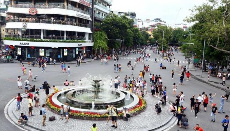 Hanoi Pedestrian Streets To Resume Operation On Mid-May