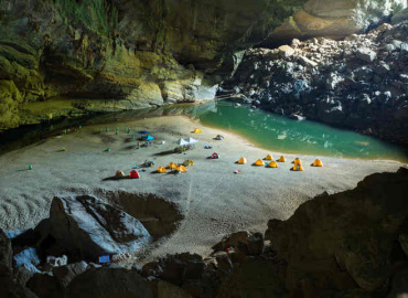 Vietnam cave tour acquires a heartfelt dimension