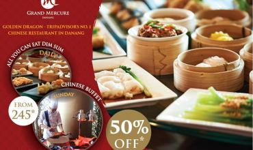 Grand Mercure Danang: Special Offer Up To 50% Off At Golden Dragon