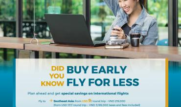 Vietnam Airlines: Buy Early, Fly For Less